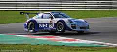On two wheels Porsche 911 GT3 R Van Splunteren Holzer (JohanvandeSande) Tags: two cars nikon wheels 911 r porsche van fia zolder gt3 on d300 holzer splunteren 091010 johanvandesande