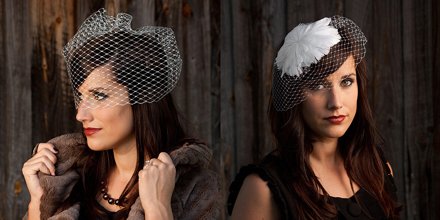 One Little Dove Editorial Headpiece & Fascinators