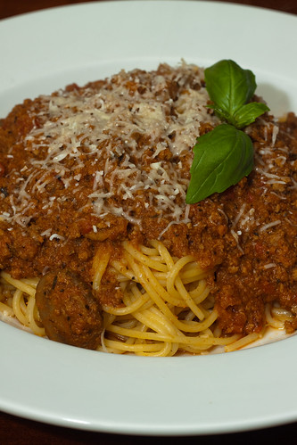 Bolognese Sauce with Spagetti