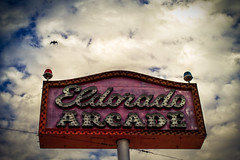 Eldorado Arcade at Coney island (morten almqvist) Tags: zeiss 35mm island arcade sigma eldorado carl m42 flektogon coney f24 sd14 sigma50th