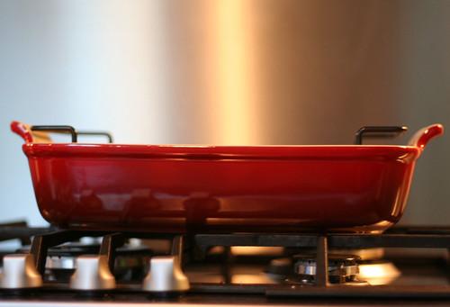 nieuwe ovenschotel!