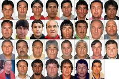 Los 33 Mineros Atrapados en Chile