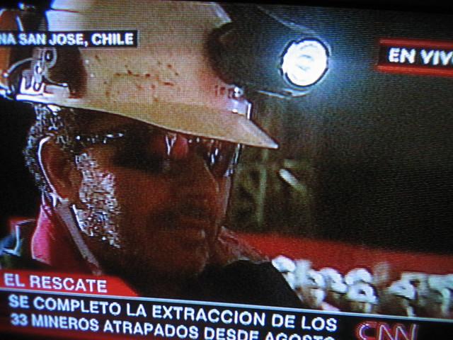 Foto rescate Luis Urzúa rostro