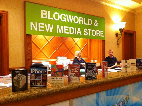 Blogworld & New Media Store #bwe10