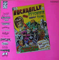 Rockabilly Psychosis & The Garage Disease - Big Beat Compilation - 1985 .