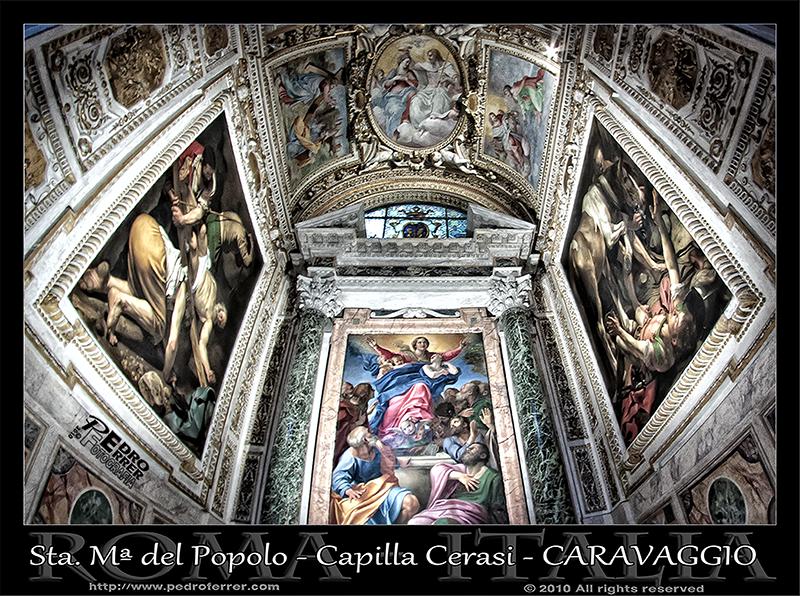 Roma - Basilica de Santa Maria del Popolo - Caravaggio.