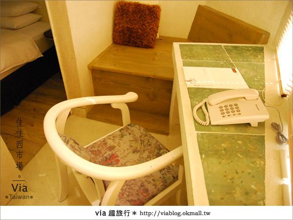 【台南住宿】佳佳西市場旅店~充滿特色的風格旅店!30