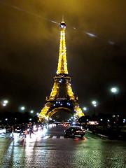 Tour Eiffel le soir