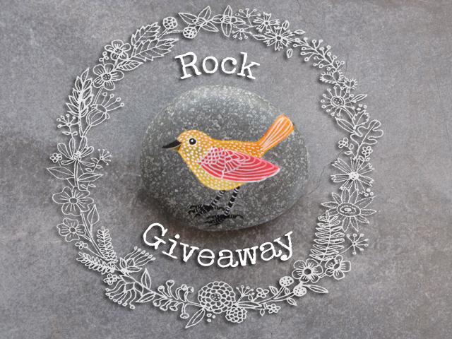 Rock giveaway