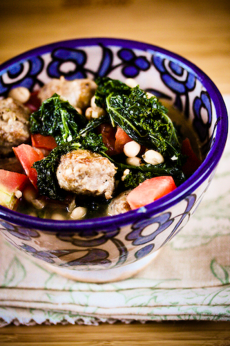 Sausage white bean and kale soup 2 (1 of 1)