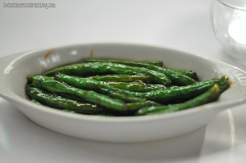 Teriyaki Green Beans at Gordy's Steak House ~ Mahtomedi, MN