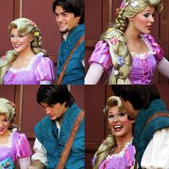 Rapunzel and Flynn (abelle2) Tags: epcot princess disney disneyworld wdw waltdisneyworld rapunzel flynn tangled disneyprincess worldshowcase flynnryder