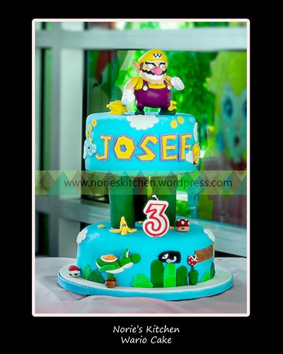 Norie's Kitchen - Super Mario Bros - Wario Cake