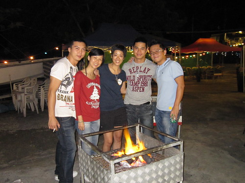 BBQ at Tai Tam Tuk Village