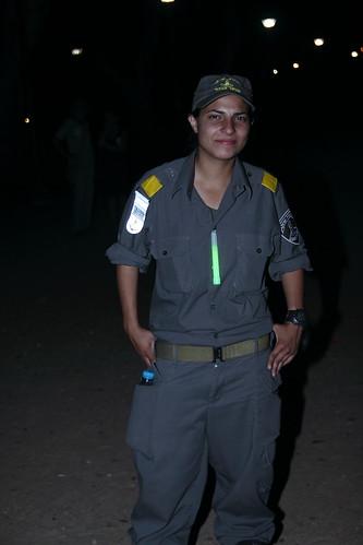 """לא נתפסים כ""""שומרי סדר"""" במגזר הערבי. שוטרת מג""""ב בהפגנה אמש"""