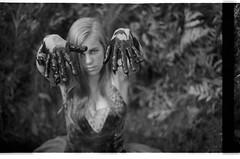 Maggie (Sasha Frolova) Tags: camp white black film ballerina mud pit tutu