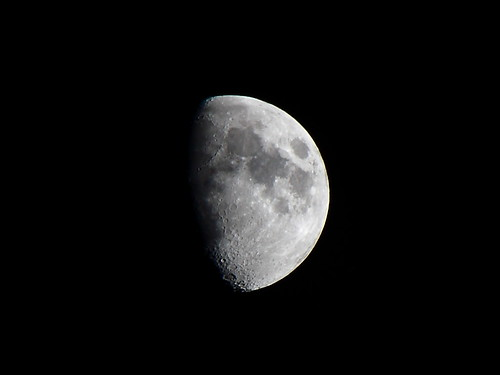 The Moon on 10-16-10