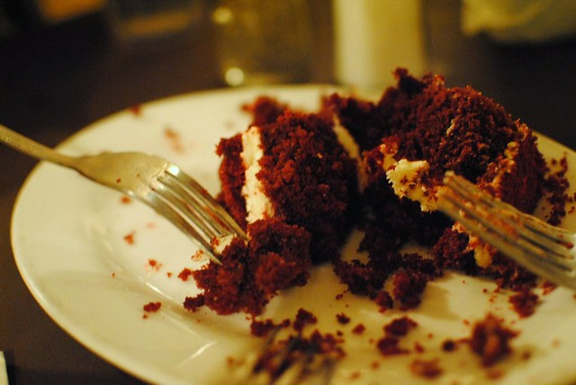 red velvet cake from mustardseed