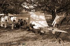 IMG_5332adjpost (Camera Man Stan) Tags: art history sepia photography illinois war photos farm civil prints reenactment