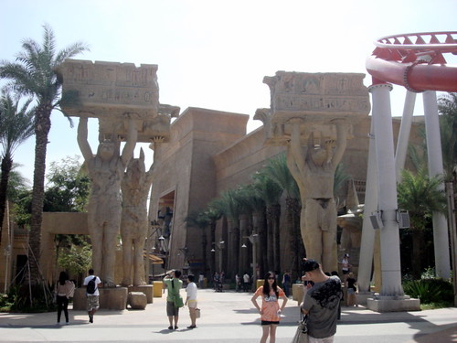Universal Studio Singapore - Ancient Egypt (2)