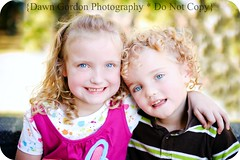 Oh so sweet (Dawn Gordon) Tags: children child sister brother blonde curlyhair nikond700
