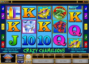 Crazy Chameleons slot game online review