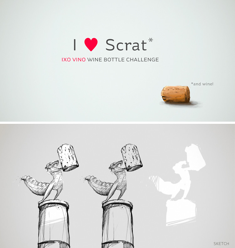 making of - i love scrat and wine
