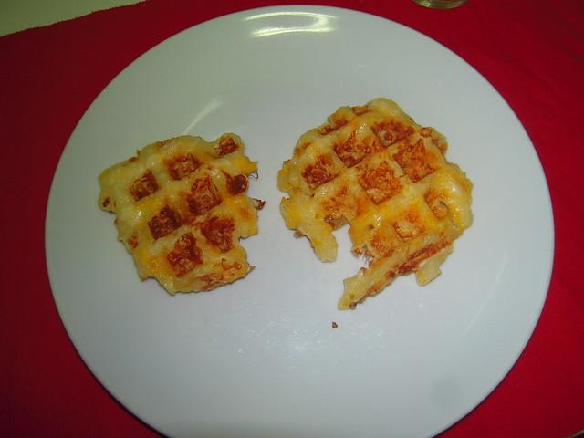 """Waffles """"Pão de Queijo"""""""