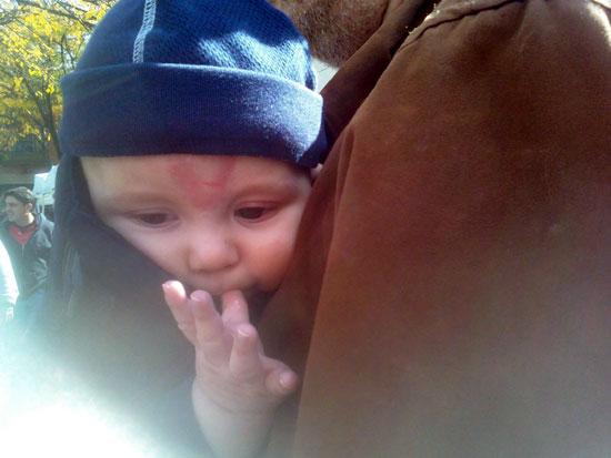 KFP in Baby Bjorn