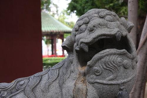 狛犬、延平郡王祠