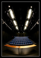 Diana Center 4 (Pro-Zak) Tags: nyc building architecture manhattan prozak fisheye rows seats weiss auditorium morningsideheights barnardcollege blackboxtheater manfredi timothyvogel dianacenter