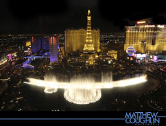 Good Night Vegas (matthewcoughlin) Tags: skyline cityscape lasvegas sigma bellagio waterfountain lasvegasskyline bellagiofountain canon7d