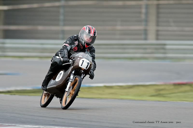 50cc racebike @ Assen classic TT 2010