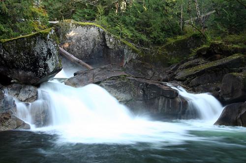 Log Choke Falls