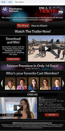 The Tester Season 2 Facebook App