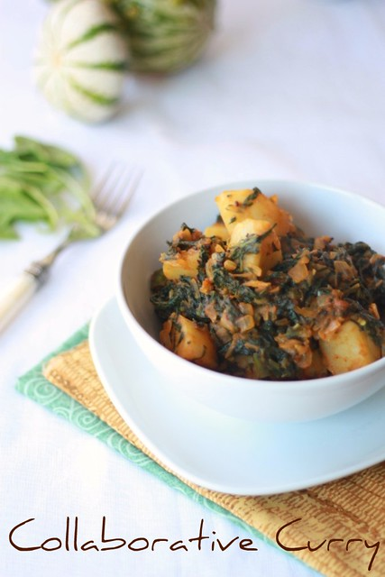Potato 'n' Spinach