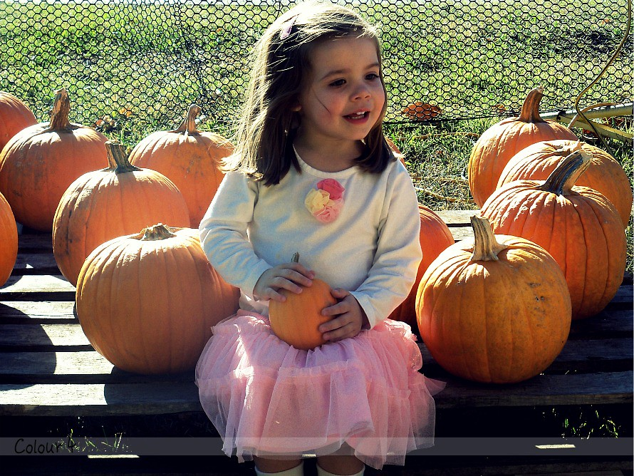 Leah and Pumpkins