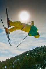 - Freeskier at Great Divide,