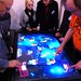 Multi-touch board game table at Spiel '10