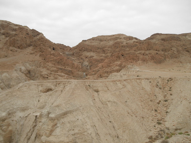 Qumran Caves - Former home of the Dead Sea Scrolls