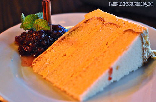 Pumpkin Mousse Torte at Cork's Irish Pub ~ St Paul, MN