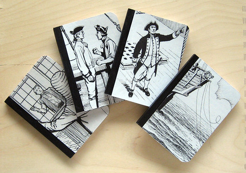 Set of law steps & sails minibooks