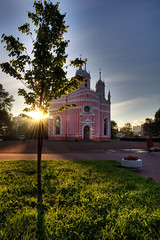 Birth of St. John the Baptist Church HDR (AliJG) Tags: travel stpetersburg europe russia hdr oceaniacruise birthofstjohnthebaptistchurch