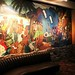 Waldorf Hotel | Stage-side mural and banquette