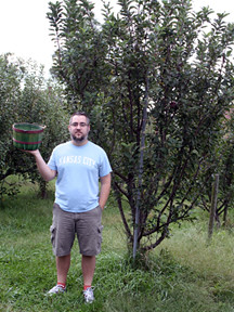 Jason in the Orchard