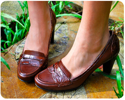 Safari Penny Loafers