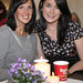 Niamh Breslin & Denise Murphy at the' Barrys Tea with WAH Nails' event in The Loft,  Powerscourt Town House