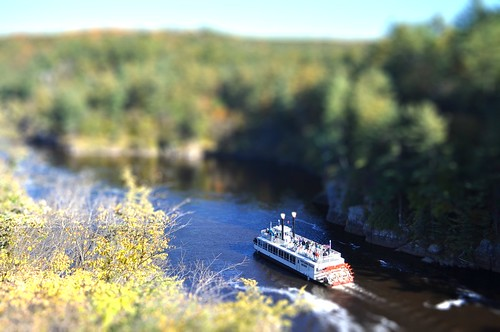 Taylor's Falls Queen (Tilt shift)