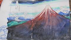 Volcano Mt Fuji Japan