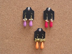 BRINCOS RESINA (H-ARTE BIJUTERIAS (31)9993-9804) Tags: flores brincos pedras strass prolas bijuterias resinas